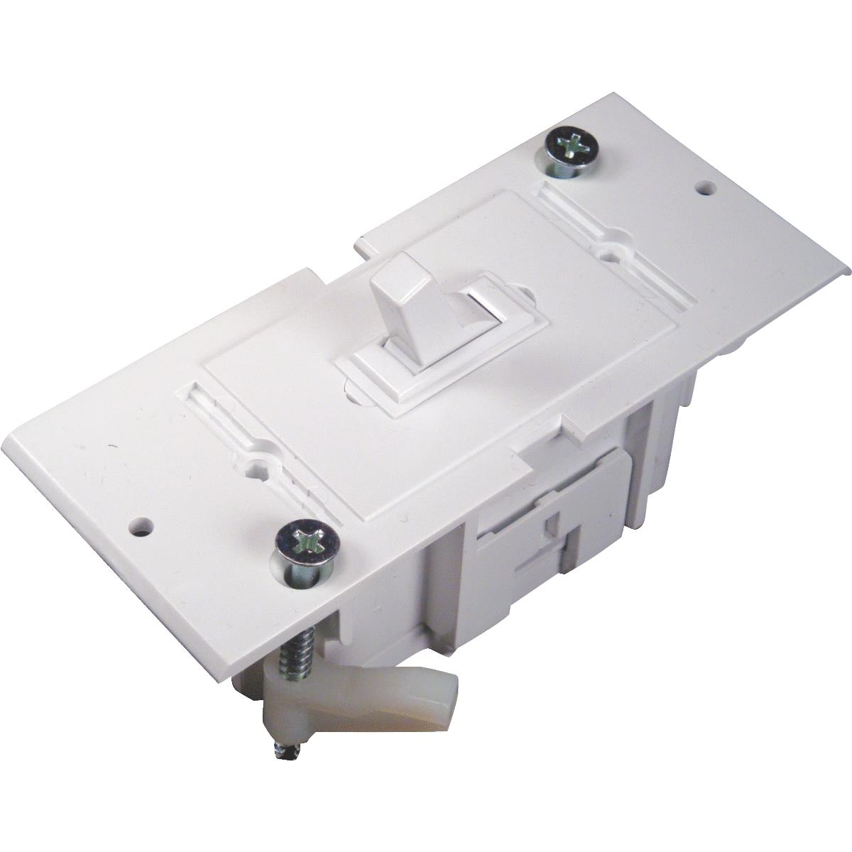 MOBILE HOME RV WALL ELECTRICAL LIGHT SWITCH BOX WHITE E-119C NEW IN PKG
