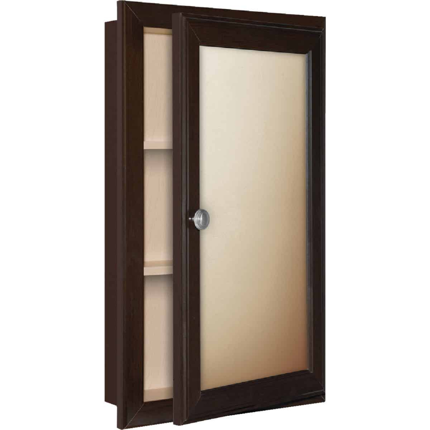 Continental Cabinets Java 15 75 In W X 25 75 In H X 4 75 In D Single Mirror Surface Recess Mount Framed Medicine Cabinet Do It Best World S Largest Hardware Store