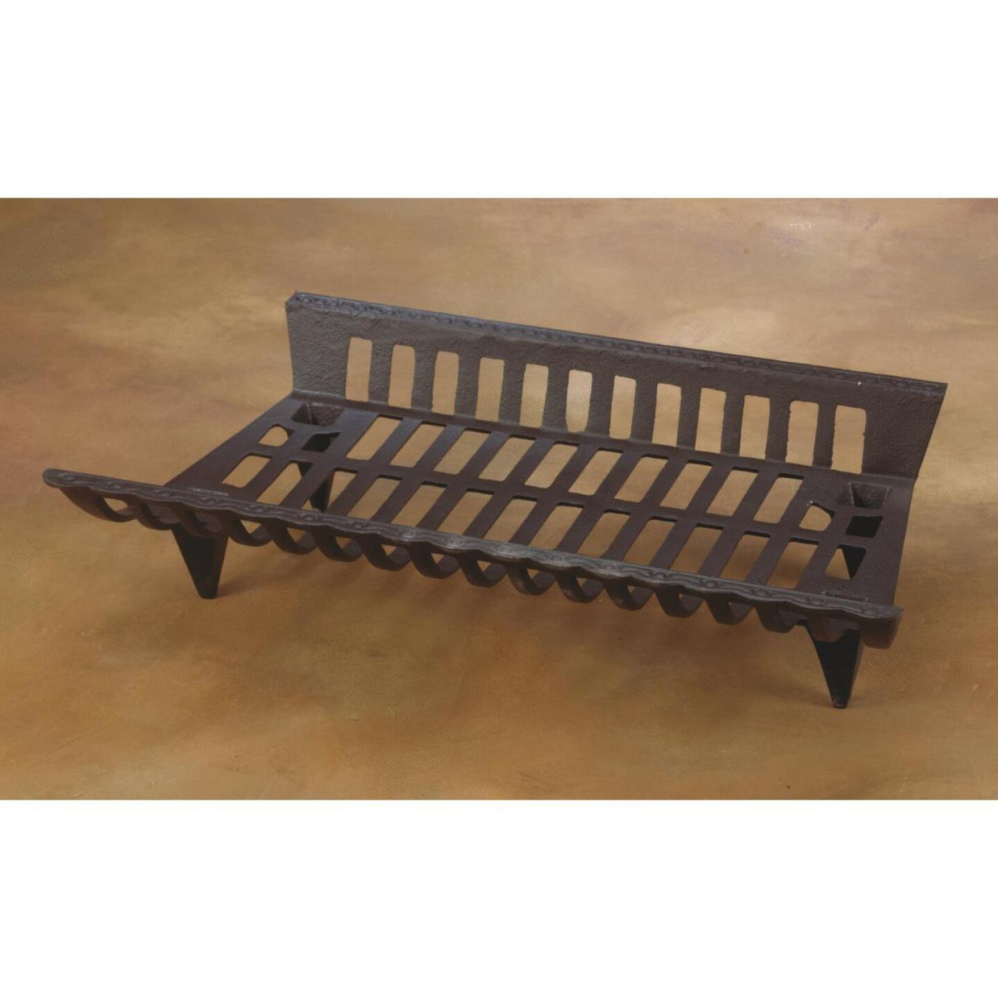 Home Impressions Zero Clearance 27 In Cast Iron Fireplace Grate