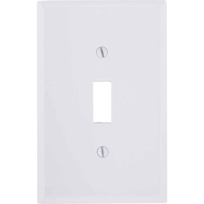 Leviton 3 Gang Smooth Plastic Mid Way Toggle Switch Wall Plate Ivory Do It Best World S Largest Hardware Store