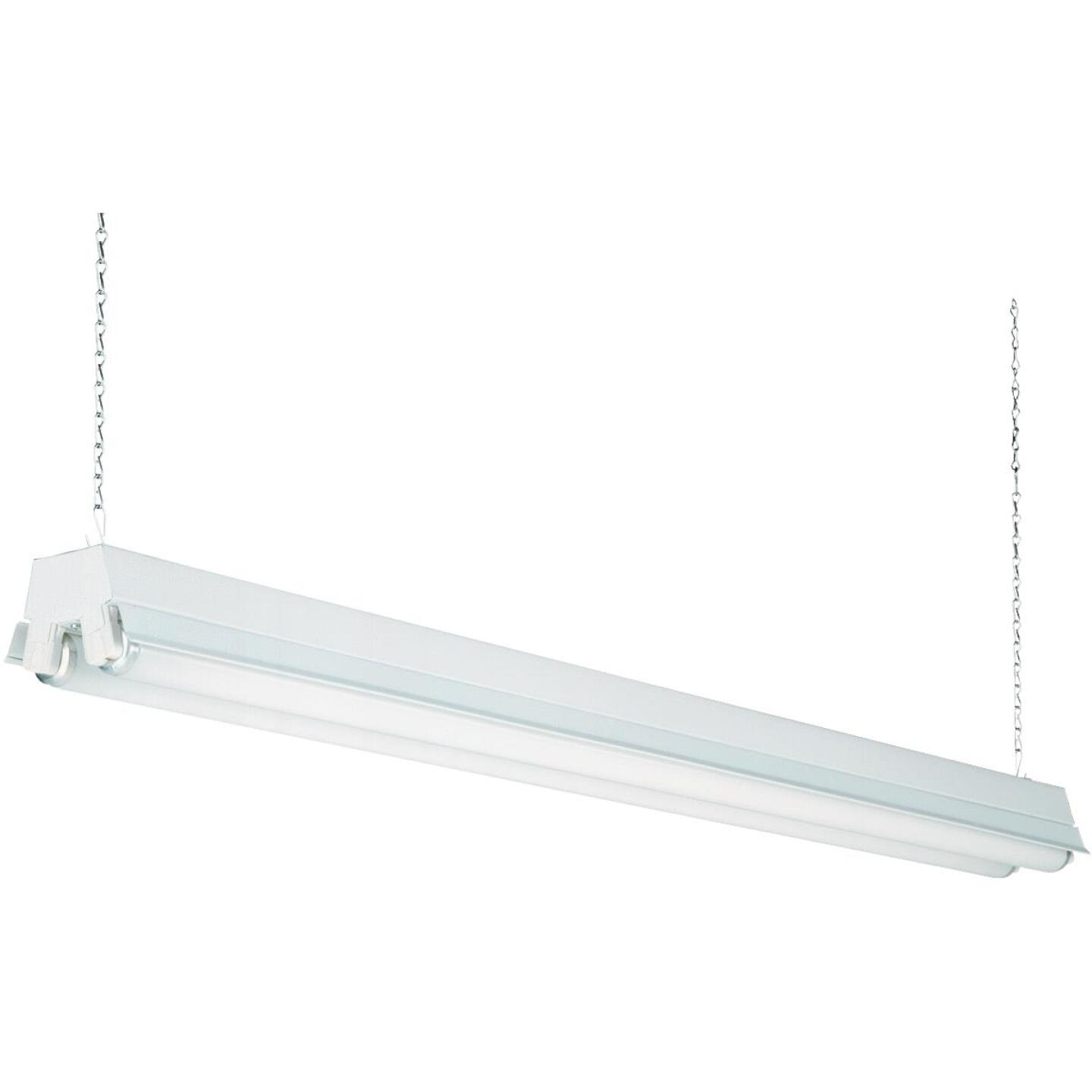 Lithonia 4 Ft 2 Bulb T12 Fluorescent Shop Light Fixture Do It
