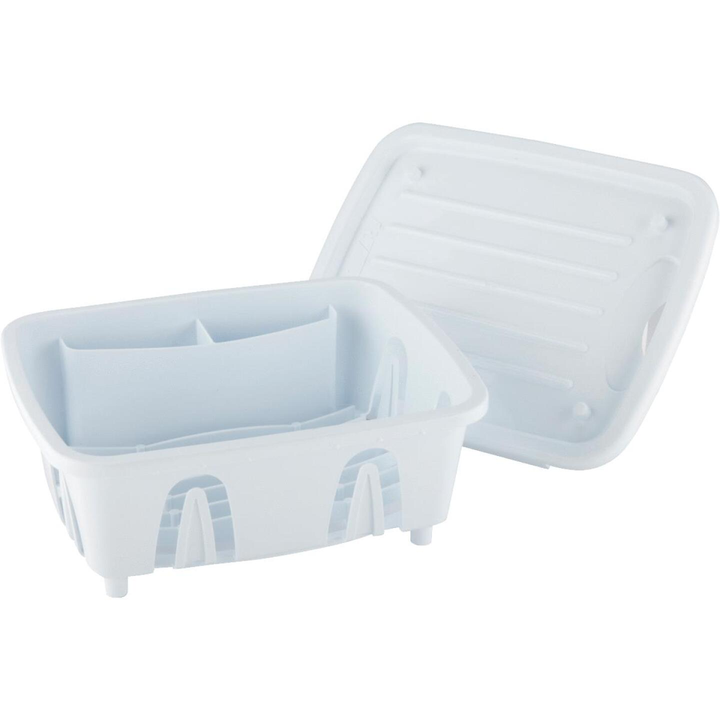 Camco Heavy Duty Plastic 9 50 In X 11 69 In White Rv Dish Drainer Do It Best World S Largest Hardware Store